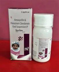 AMOXYXILLIN & POTTASIUM CLAVULANATE DRY SYRUP