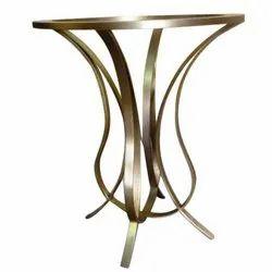 Stainless Steel Modern Metal Table