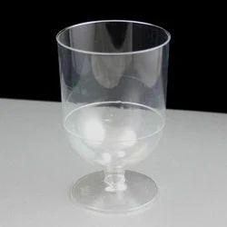 Tata Soft Drink Plastic Glass, Size: 7-8 Inch