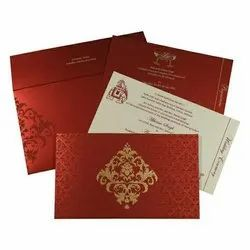 Screen Printing Designing With Floral Wedding Card Printing Services, Ludhiana