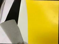 bk /white/ yellow Plain Rexine Auto Hood