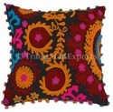 16x16 Suzani Cushion Cover