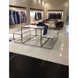 Stainless Steel Garment Display