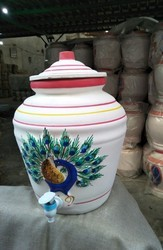 White Clay Pot