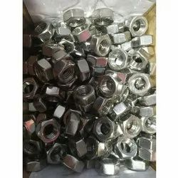 Hexagonal Stainless Steel Hex Nut, Size: M 12