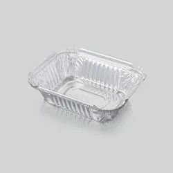 Fresh Pack 450 ml Silver Aluminum Foil Food Container