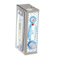 Metal Warm White Globeam S1 Rechargeable LED Light, Battery Type: Lead-Acid, Capacity: 1000MAH