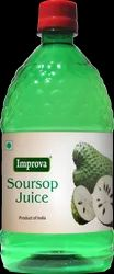A Grade Improva Soursop Juice, Packaging Size: 400 ml, 800 ml, Soursop Fights Cancer