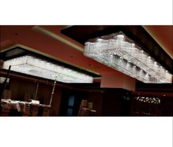 Rectangle Crystal Chandelier
