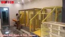 Indoor Coin Games & Ball Room