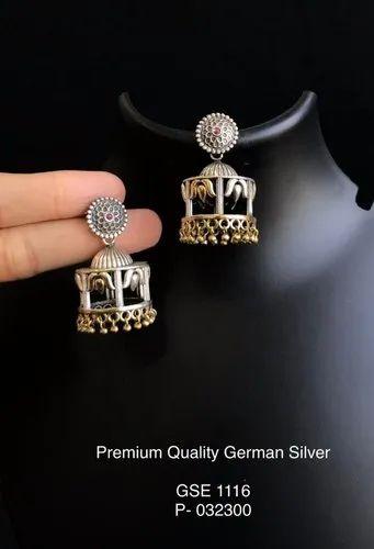 Antique Engraved Earrings