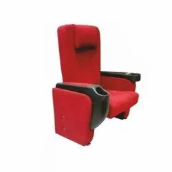 High Back Red Auditorium Chair