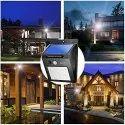 JY-6009 Solar Powered LED Street Wall Light