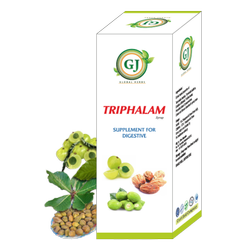 Ayurvedic Composition Triphalam Syrup, 20ml With Water, Packaging Type: 200ml