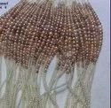 Mixed Color Round Pearl Necklace In Gradual Shape 2-9mm Very High Luster Strands Pearl