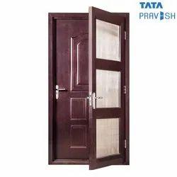 Stainless Steel (304 Grade) Tata Pravesh Fly Mesh Residential Steel Door