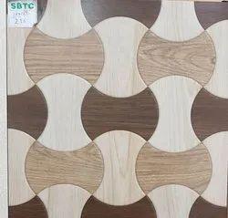 Square 16x16 Inch Matt Ceramic Floor Tile, Thickness: 9-10 mm