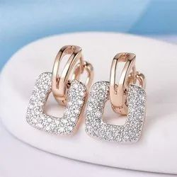 D-star Jewellery Diamond Earrings