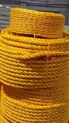 20-40 mm Yellow PP Ropes