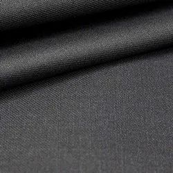 Casual Black Plain Trouser Fabric