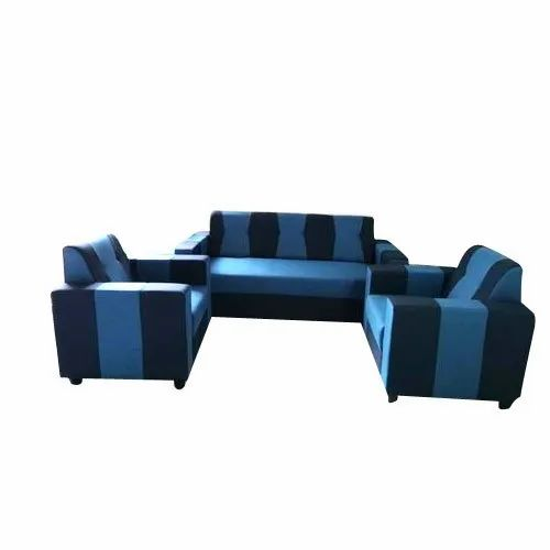 Modern 5 Seater Designer Sofa Set, Model Name/Number: Double - 3+1+1, for Home