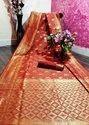 Wedding Heavy Work Saree