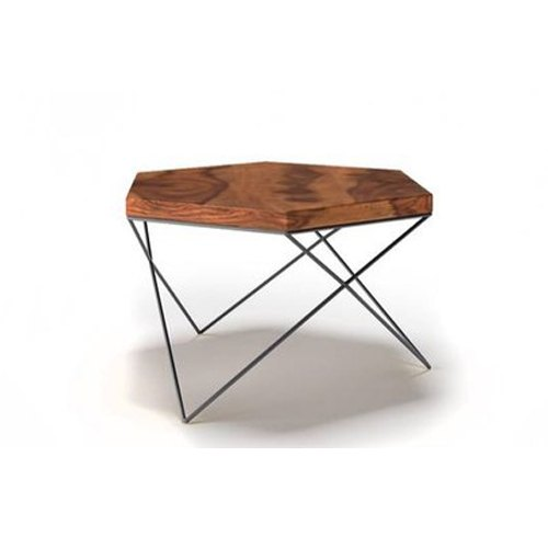 Wood Brown Hexagonal Coffee Table Rs 8000 Piece La Di Da Home