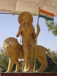 Bharat Mata Gunmetal Monumental Statue