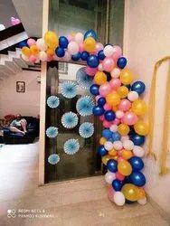 Balloon Decoration At Home