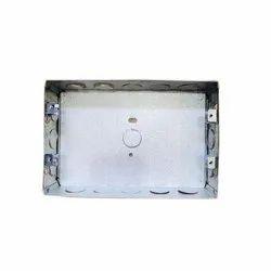 Square 12 Module GI Modular Electrical Box