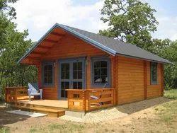 Modular Wood Cottage - Steel Frame