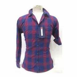 Punit Polyfab Cotton Stylish Mens Shirts, Packaging Type: Packet