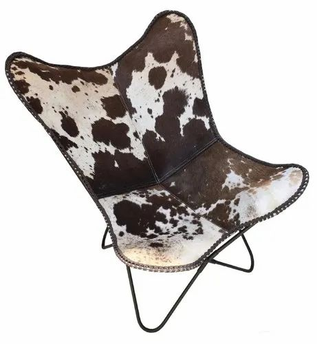 Terrific Butterfly Sling Chair Gaucho Style Hand Crafted Stitched Details Pony Skin Dapple Pattern Real Download Free Architecture Designs Rallybritishbridgeorg