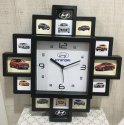 Customised Decorative Plastic Frame Clock