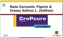 Nano Curcumin Yello CroPcure Tablet, for Health, Grade Standard: Food Grade