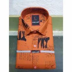 Euro Look Cotton Mens Fancy Shirt