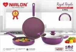 Nirlon Regal Purple Cookware Gift Set