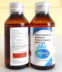 Ambroxol Hydrochloride, Guaiphensin, Terbutalin Sulphate & Menthol Syrup