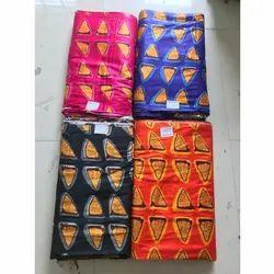 Triangle Print Rayon Fabric