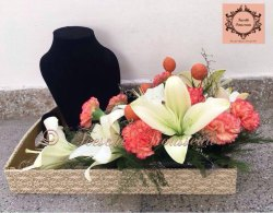 Rectangle Customized Flower Bouquets
