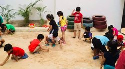 United Natural Play Sand, Packaging Size: 20 Kg, Packaging Type: Bags