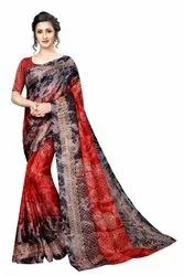 Prism Silk Saree With Blouse Piece