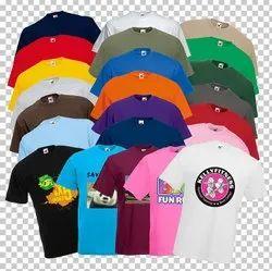 Promotional Economy Round Neck T-shirts