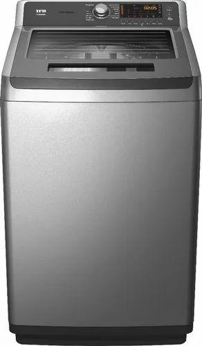 IFB 8 kg Fully Automatic Top Load Washing Machine, TLSDG Aqua, Grey