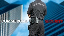 Corporate Male Commercial Security Service