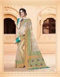 Indian Party Wear Silk Saree