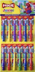 MKR Toothbrush MKR Junior Toothbrush, Packaging Size: 12 Piece Sheet
