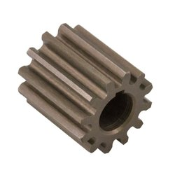 10 Teeth Pinion Gear Shaft