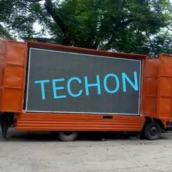 TECHON LED VAN/ TRUCK ADVERTISING SCREEN