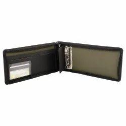 Wallet / Card Holder - Black & Grey